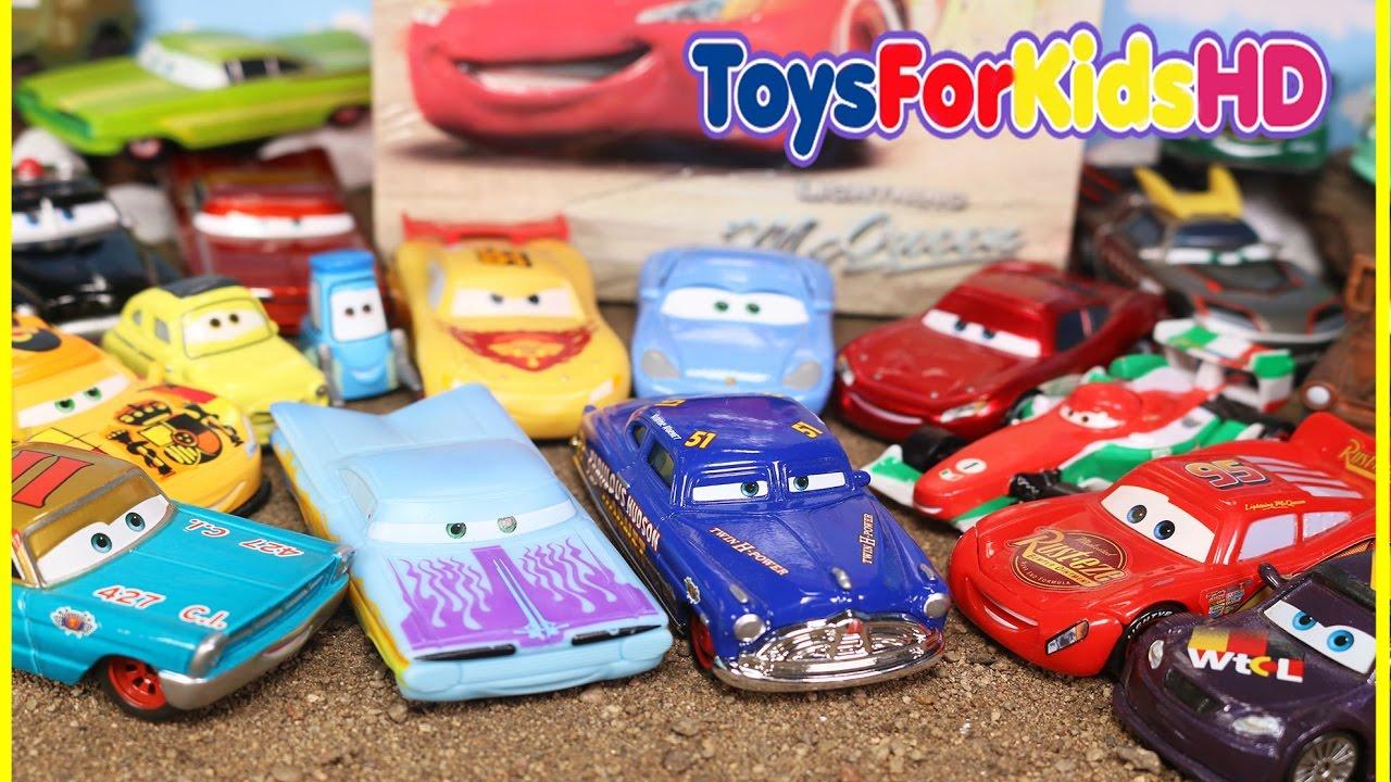 Juguetes de cars colecci n de coches de cars rayo mcqueen - Juguetes cars disney ...