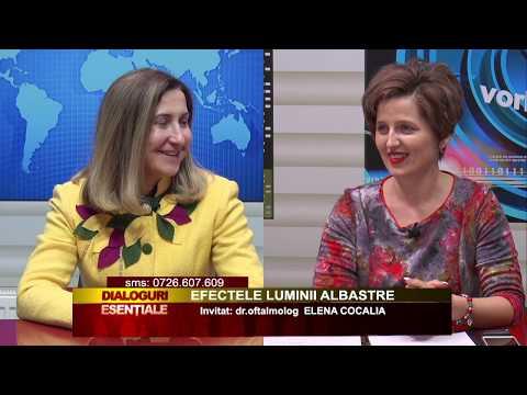 DIALOGURI ESENȚIALE: EFECTELE LUMINII ALBASTRE - HD: Invitat: dr.oftalmolog ELENA COCALIA