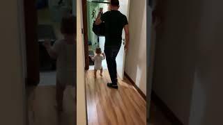 Aliasaf 11 aylıkken babasını ilk uğurlama tam video
