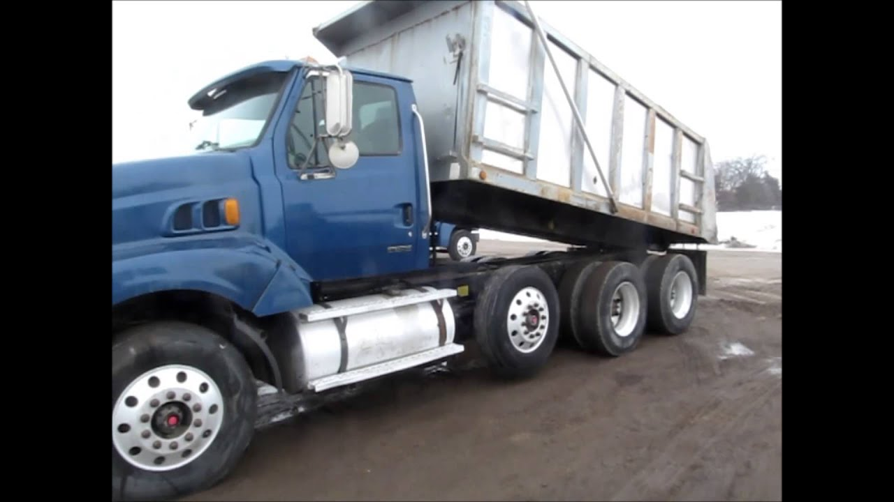 2001 Sterling LT8500 triple axle dump truck for sale | sold at auction  March 28, 2013