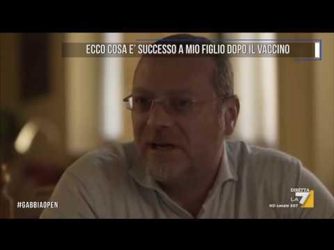 LA STORIA DI ANDREA, DANNEGGIATO DA UN VACCINO FACOLTATIVO (La7 LaGabbiaOpen 31/05/2017)