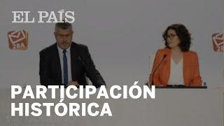 ELECCIONES | La PARTICIPACIÓN a las 18.00 es del 60,72%, 9,5 PUNTOS MÁS que en 2016