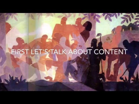 Harlem Renaissance how to recognize an Aaron Douglas Painting