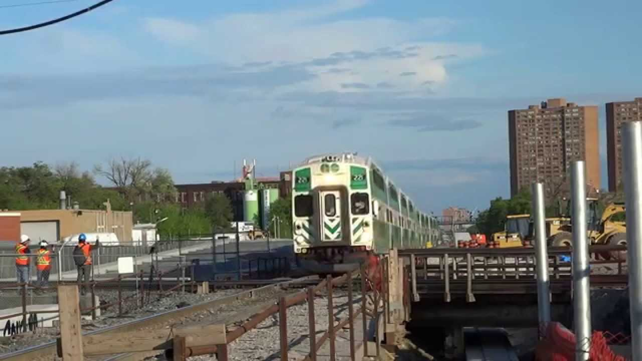 Very Last GO Train To Cross CP Tracks At The West Toronto Diamond ...