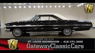 1964 Ford Galaxie Stock #6809 Gateway Classic Cars St. Louis Showroom