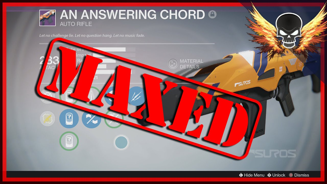 an answering chord destiny