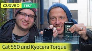 Cat S50 und Kyocera Torque: Zwei Outdoor-Smartphones im Test | deutsch