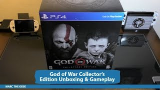 God Of War Collector's Edition Unboxing & Gameplay
