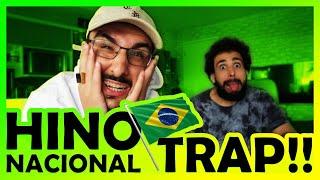 Baixar REACT MURILO COUTO - TRAP HINO NACIONAL BRASILEIRO [DNASTY]