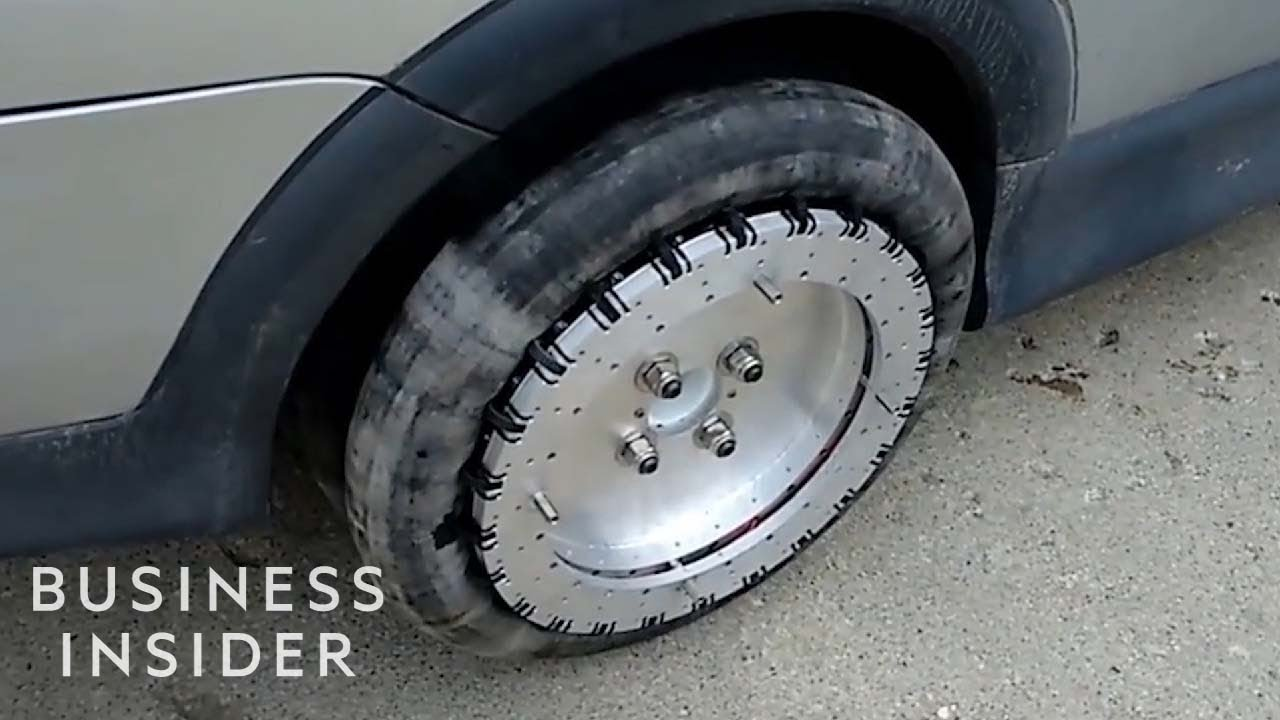 Omnidirectional Wheel Allows Cars To Glide Sideways