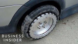 Omnidirectional Wheel Allows Cars To Glide Sideways thumbnail