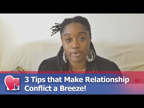 3 Tips that Make Relationship Conflict a Breeze! - by Anabel Newton (for Digital Romance TV)