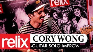 Solo Guitar Improv | Cory Wong | Relix Studio Sessions