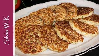 Blumenkohl / kalorienarm - gesund - preiswert / Blumenkohl-Puffer / Gemüsepuffer