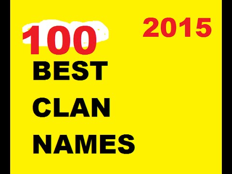 100 Clan Name Ideas 3 Doovi