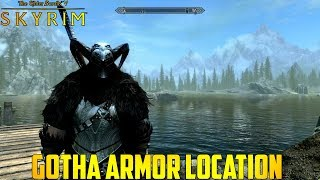 Skyrim Gotha Armor Location (Xbox One Mod)