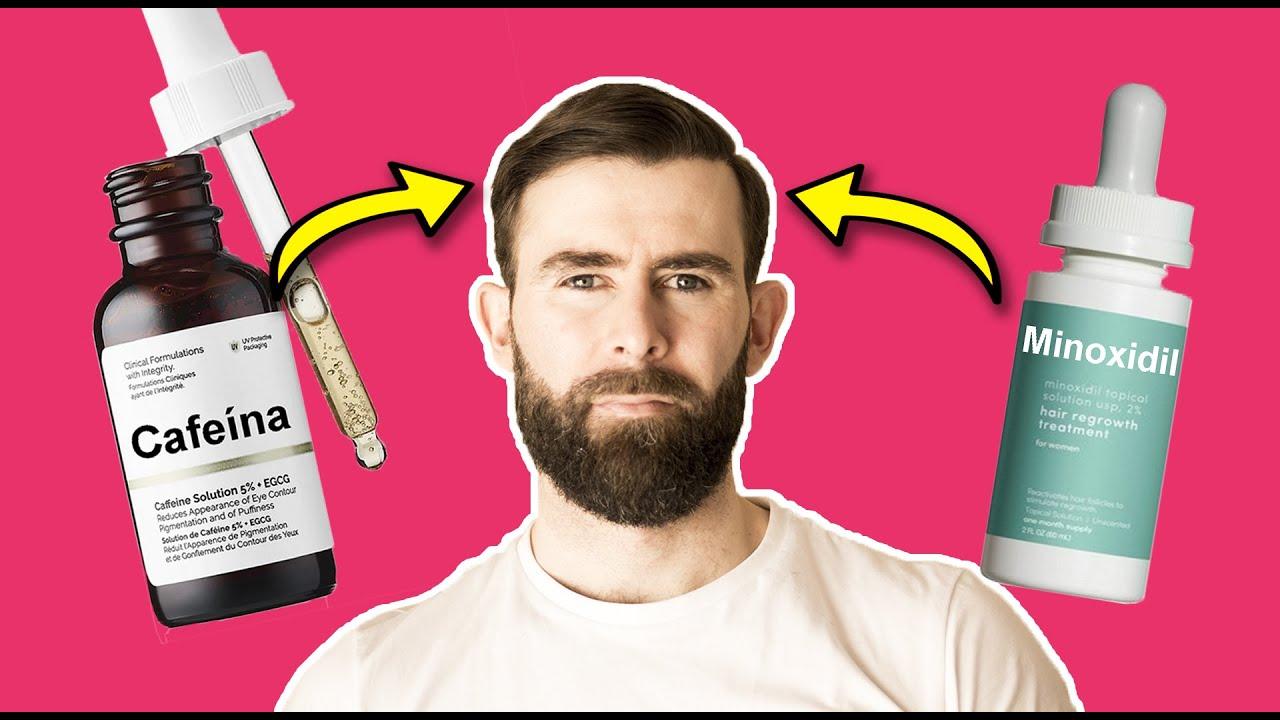 Cafeína vs Minoxidil: Eficacia contra la Alopecia Androgenética