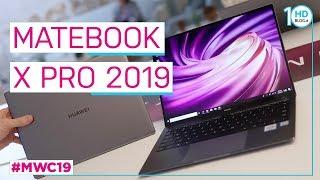 HUAWEI MateBook X Pro 2019, CONDIVIDE foto e video con un tocco | MWC 2019