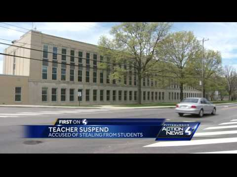 Mt. Lebanon teacher charged with theft of students' money