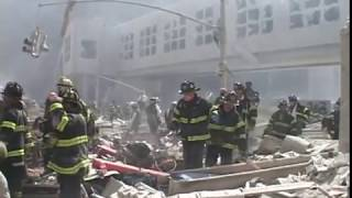 A Walk Threw Ground Zero WTC NYC Hours After Terror Attack 911 September 11, 2001 by Garvey Rich