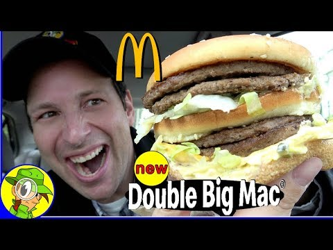 McDonald's® | DOUBLE BIG MAC® Review 💪🍔 | Peep THIS Out! 😋