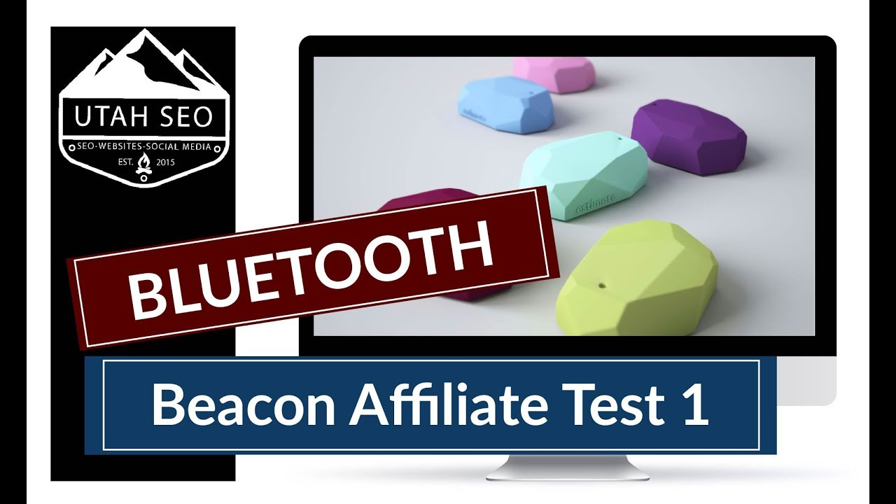 Estimote Beacon Affiliate Test 1 - Placement