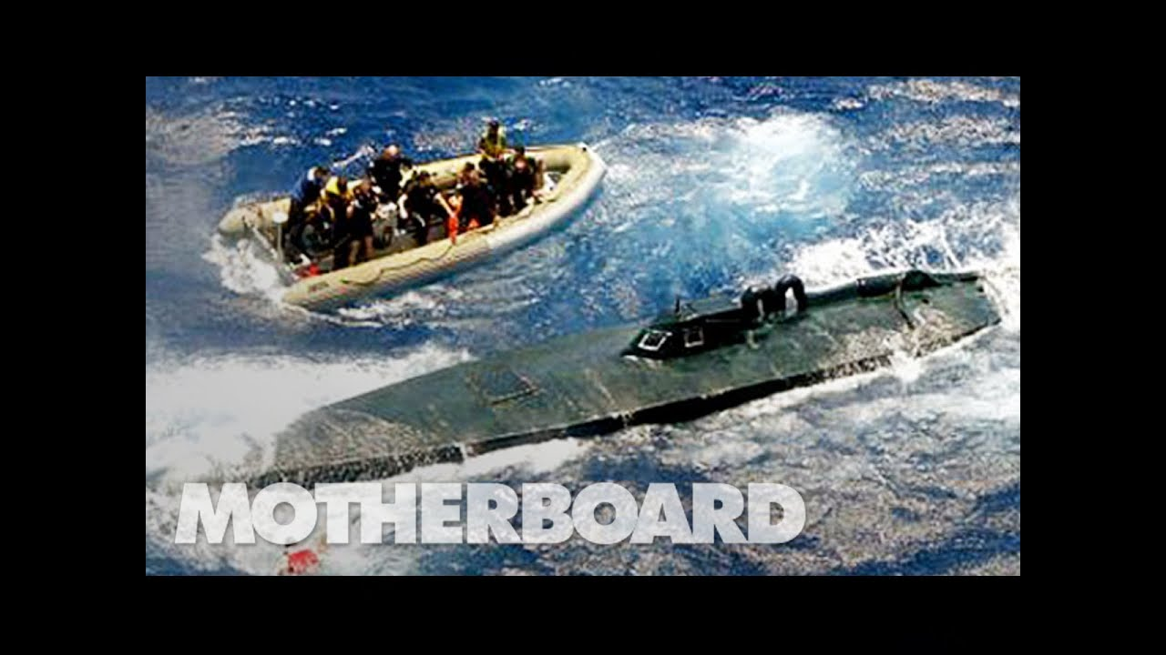 Police discover extraordinary 100ft submarine used by Colombian ...