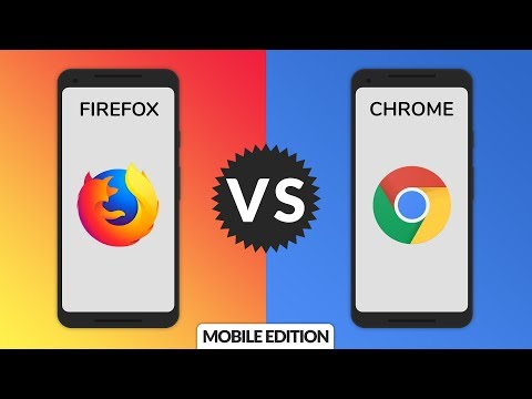 Firefox Vs. Chrome: Mobile Edition!