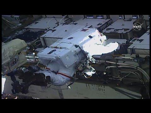 شاهد: للمرة الأولى في التاريخ.. -مهمة نسائية- خارج محطة الفضاء الدولية…  - نشر قبل 2 ساعة