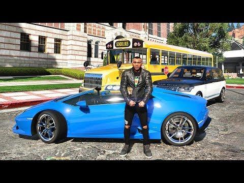 GTA 5 REAL LIFE MOD #552 - SCHOOL BUS DRIVER JOB!!! (GTA 5 REAL LIFE MODS)