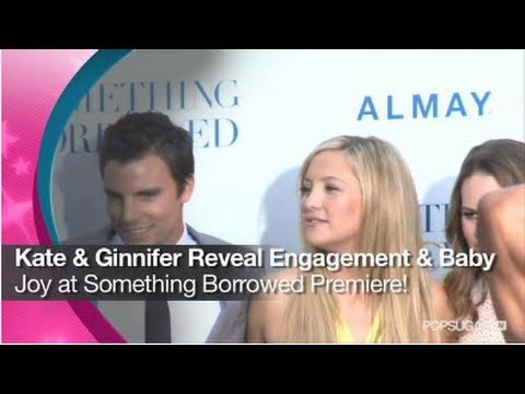Kate Hudson And Ginnifer Goodwin Have Wedding Fever At The Something Borrowed Premiere!