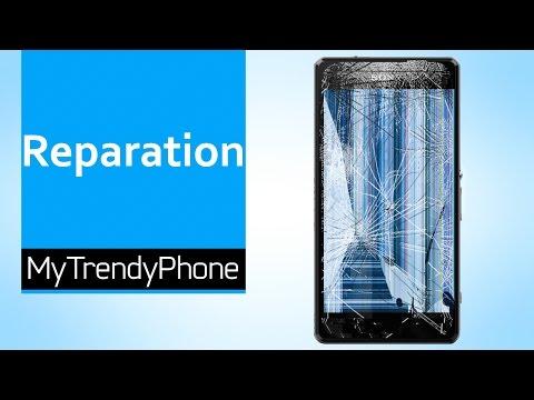 Reparation af touchskærm og LCD på Xperia Z1