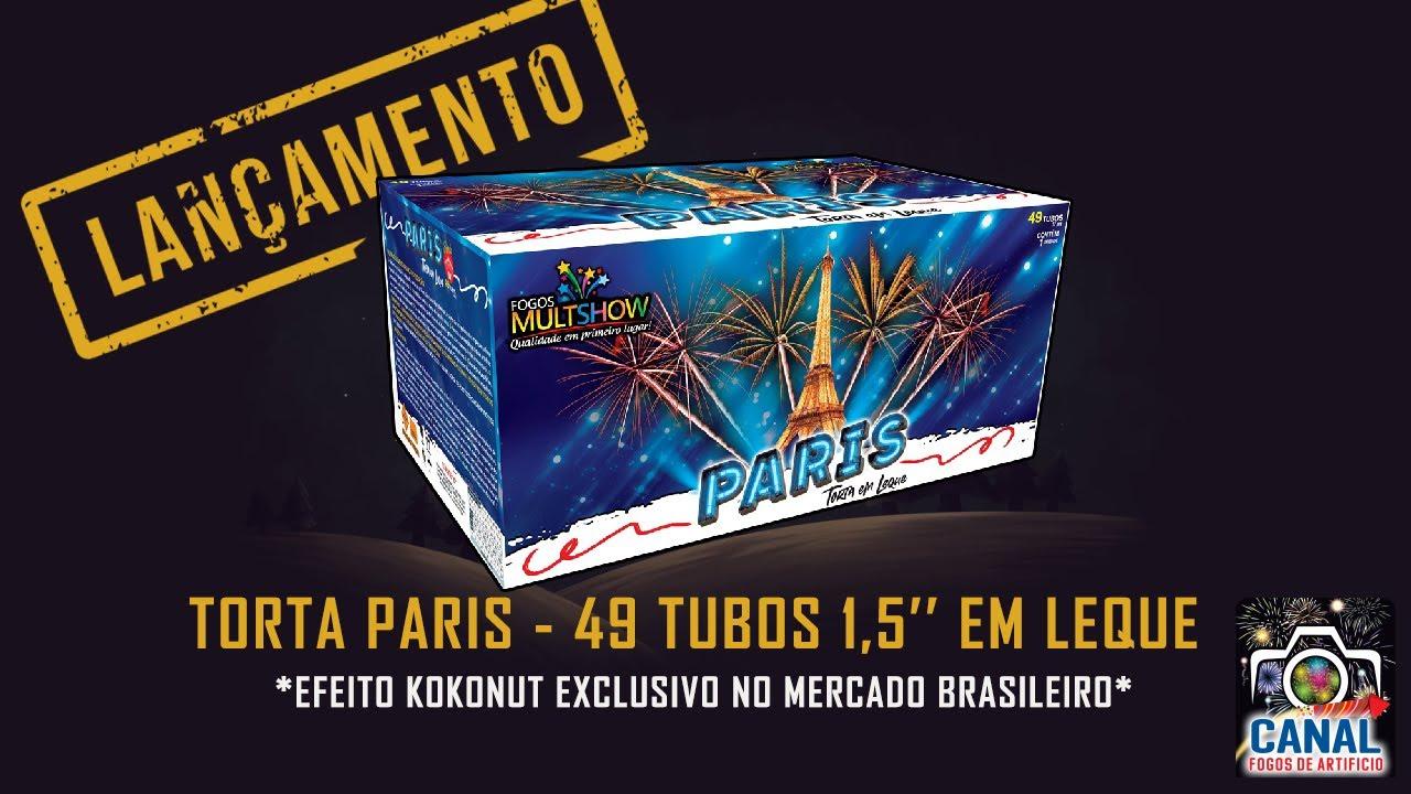 LANÇAMENTO 2021 - TORTA PARIS - FOGOS MULTSHOW