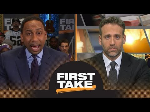 Stephen A. and Max agree about Russell Westbrook's reaction to fan | First Take | ESPN