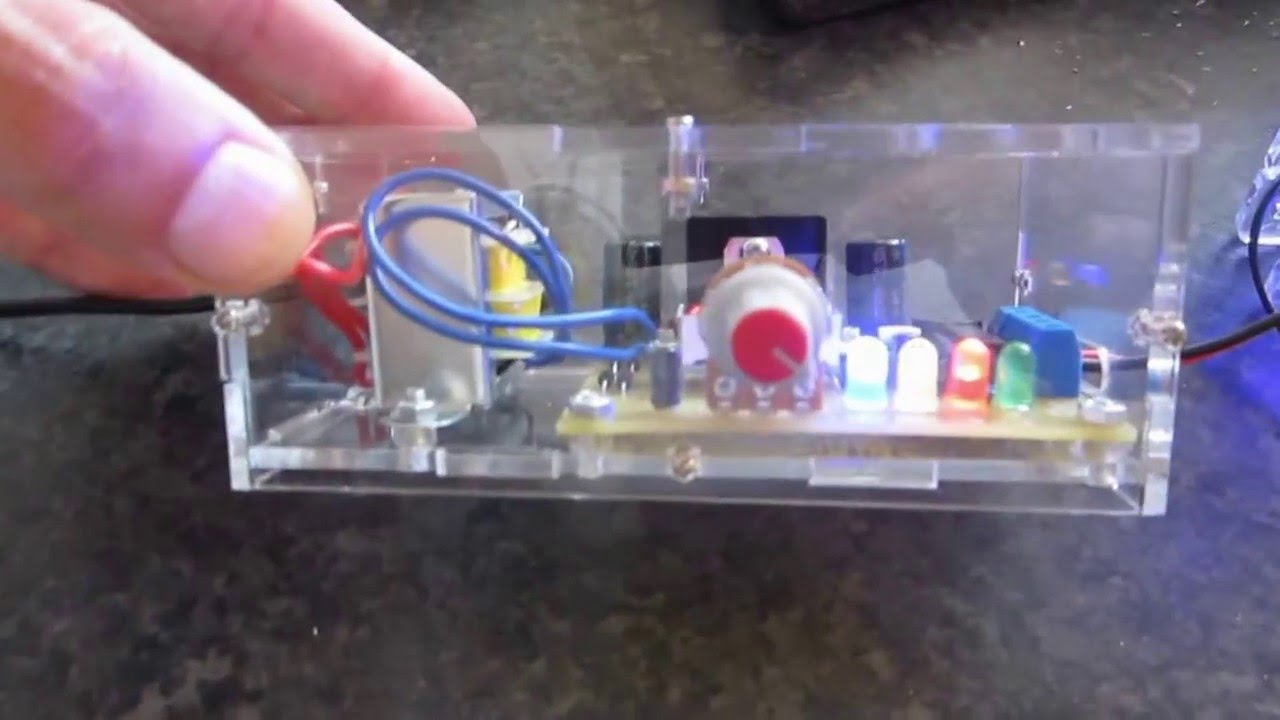 Lm317 Adjustable Power Supply Diy Kit Review Youtube Circuit