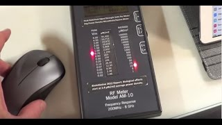 Wireless Mouse, Wireless Keyboard, Tablet - See the Wireless Radiation Measured