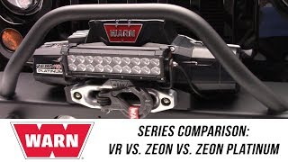 In the Garage™ with Performance Corner®: WARN VR vs. Zeon vs. Zeon Platinum