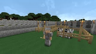 Minecraft Выживание - Строим ферму с животными #7