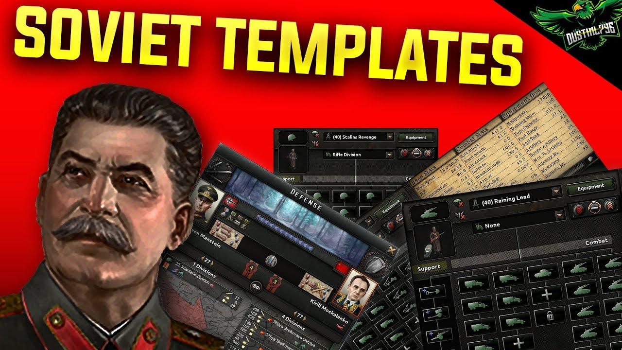 HOI4 Soviet Union Template Guide (Hearts of iron 4 Soviets templates  Tutorial)