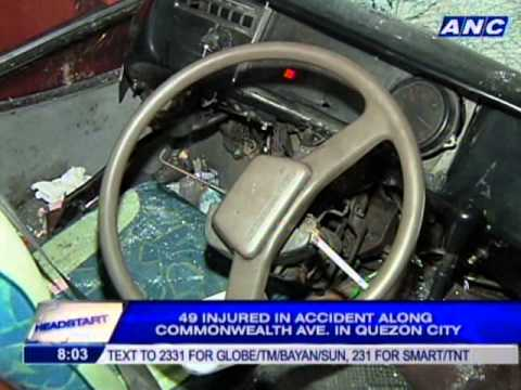 49 injured in accident along Commonwealth Avenue
