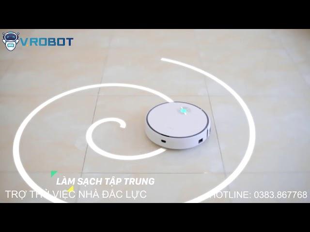 Robot hụi bụi lau nhà FIKO F1 - Hàng chính hãng 💯 | Giải pháp Nhà Thông Minh SALA