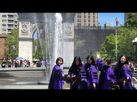 ⁴ᴷ⁶⁰ Walking NYC : 368 Broadway, Tribeca To Washington Square Park (NYU Graduation Season 2019)