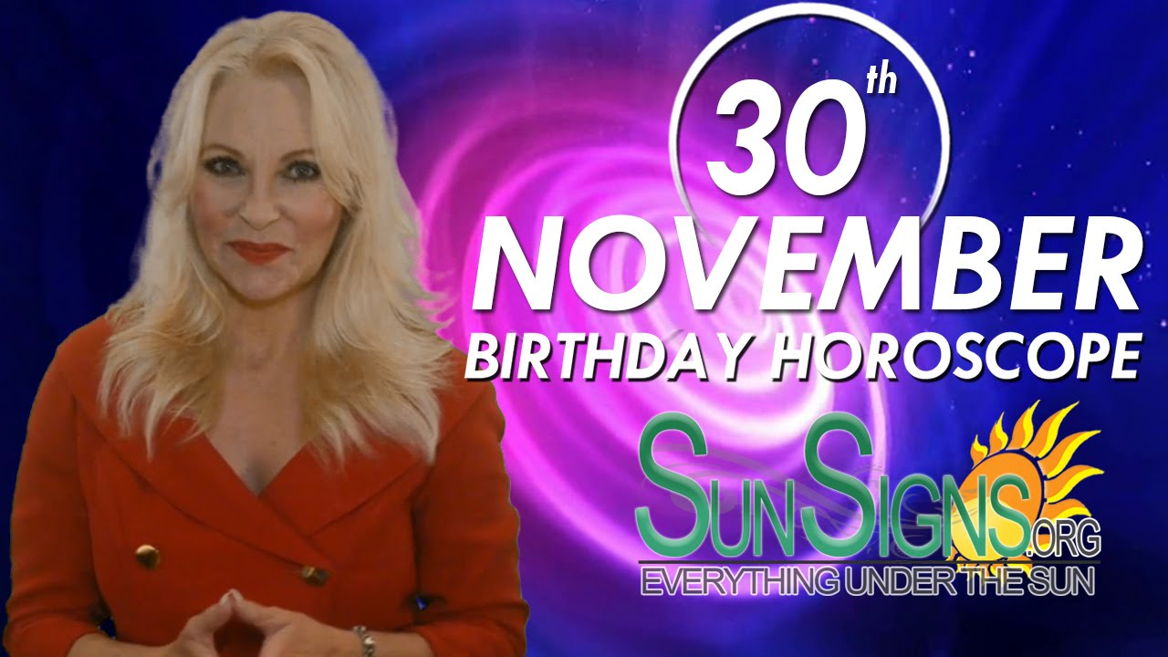 November 30 Zodiac Horoscope Birthday Personality | SunSigns Org