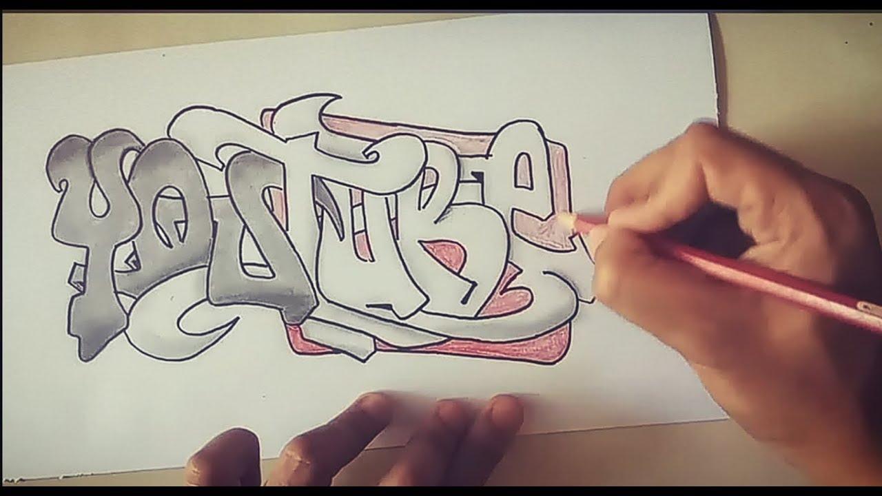 Download Cara Menggambar Graffiti Slow Mudah Mp3 Mp4 3gp Flv