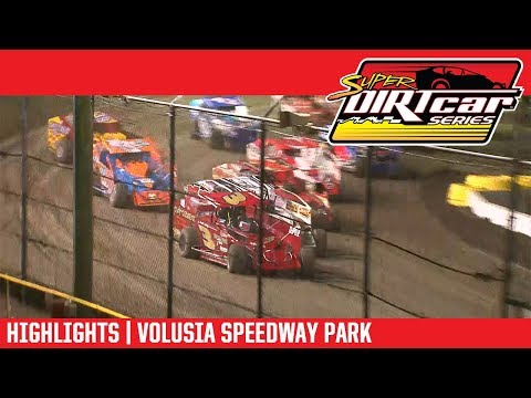 Super DIRTcar Series Big Block Modifieds Volusia Speedway Park February 14th, 2018 | HIGHLIGHTS