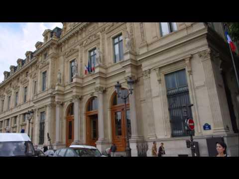 France, Paris, Old buildings in Paris