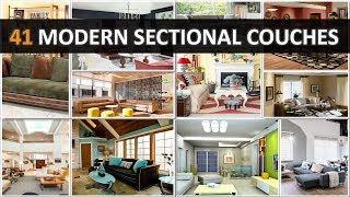 41 Modern Sectional Couches - DecoNatic