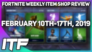 Fortnite Weekly Item Shop Review [February 10th-17th] (Fortnite Battle Royale)