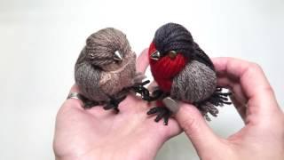 Yarn bird DIY