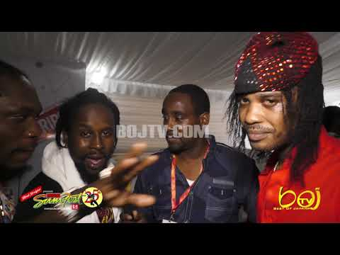 POP CAAN, TOMMY LEE SPARTA AND FRIENDS FREE STYLE ON BOJTV AT REGGAE SUMFEST 2018